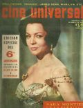 Sara Montiel on the cover of Cine Universal (Spain) - October 1962