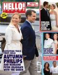 Chelsea Clinton, George Clooney on the cover of Hello (Canada) - August 2010