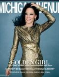 Lucy Liu on the cover of Michigan Avenue (United States) - November 2012