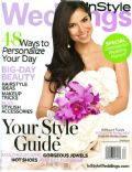 Roselyn Sanchez on the cover of Instyle Weddings (United States) - June 2008