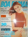 Lavínia Vlasak on the cover of Boa Forma (Brazil) - September 1997