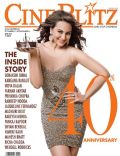 Sonakshi Sinha on the cover of Cineblitz (India) - April 2014