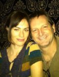 Maggie Siff and Paul Ratliff