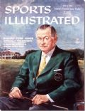 on the cover of Sports Illustrated (United States) - April 1959