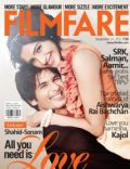 Shahid Kapoor, Sonam Kapoor, Sonam Kapoor and Shahid Kapoor on the cover of Filmfare (India) - September 2011