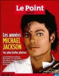 Michael Jackson on the cover of Le Point (France) - August 2009