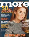 Sarah Ferguson on the cover of More (United States) - October 2003