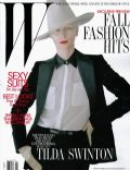 Tilda Swinton on the cover of W (United States) - August 2011