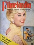 Doris Day on the cover of Filmelandia (Brazil) - April 1962