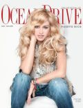 Paulina Rubio on the cover of Ocean Drive (Puerto Rico) - June 2009