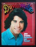 John Travolta on the cover of Dynamite (United States) - April 1977
