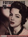 Sara Montiel on the cover of Fotogramas (Spain) - June 1957