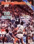 Ed Pinckney on the cover of Sports Illustrated (United States) - April 1985