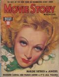 Marlene Dietrich on the cover of Movie Story (United States) - October 1937