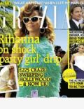 Rihanna on the cover of Grazia (United Kingdom) - May 2012