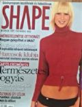 Regina Dukai on the cover of Shape (Hungary) - May 2003