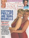 Chynna Phillips, Michelle Phillips on the cover of People (United States) - May 1991