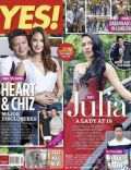Coco Martin, Francis Escudero, Heart Evangelista, Julia Montes, Rocco Nacino, Ryan Agoncillo on the cover of Yes (Philippines) - May 2013