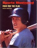 Carlton Fisk on the cover of Sports Illustrated (United States) - September 1972