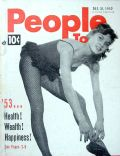 Brigitte Bardot on the cover of People Today (United States) - December 1952