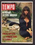Tina Aumont on the cover of Tempo (Italy) - December 1968