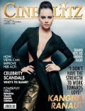 Kangana Ranaut on the cover of Cineblitz (India) - October 2013