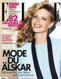 Julia Stegner on the cover of Elle (Sweden) - January 2013