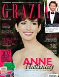Anne Hathaway on the cover of Grazia (Indonesia) - February 2013