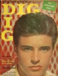 Ricky Nelson on the cover of Dig (United States) - April 1959