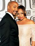 Kim Fields and Christopher Morgan