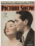 Myrna Loy on the cover of Picture Show (United Kingdom) - May 1938
