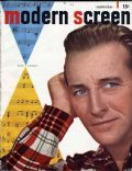 Bing Crosby on the cover of Modern Screen (United States) - September 1948