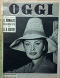 Oggi Magazine [Italy] (11 September 1958)