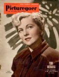 Joan Fontaine on the cover of Picturegoer (United Kingdom) - October 1950