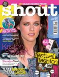 Kristen Stewart on the cover of Shout (United Kingdom) - June 2010