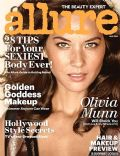 Olivia Munn on the cover of Allure (United States) - May 2014