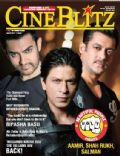 Aamir Khan, Salman Khan, Shah Rukh Khan on the cover of Cineblitz (India) - March 2012