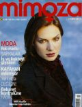 Eysan Özhim on the cover of Mimoza (Turkey) - January 1998