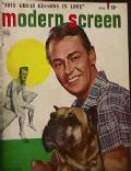 Alan Ladd on the cover of Modern Screen (United States) - May 1949