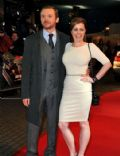 Simon Pegg and Maureen McCann