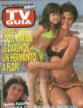 Araceli González on the cover of TV Guia (Argentina) - February 1993
