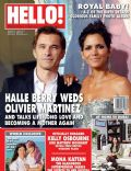 Halle Berry, Halle Berry and Olivier Martinez, Olivier Martinez on the cover of Hello (United Arab Emirates) - July 2013