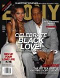 Beyoncé Knowles, Beyonce Knowles and Jay-Z, Jay-Z on the cover of Ebony (United States) - February 2011