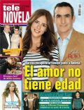Daniel Martínez, Danny Gamba on the cover of Tele Novela (Spain) - April 2012