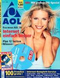 Michelle Hunziker on the cover of Aol (Germany) - February 2003