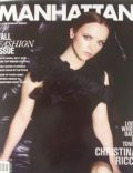 Christina Ricci on the cover of Manhattan (United States) - September 2011