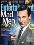 Jon Hamm, Mad Men on the cover of Entertainment Weekly (United States) - March 2012