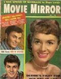 Debbie Reynolds on the cover of Movie Mirror (United States) - July 1958