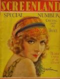 Vilma Bánky on the cover of Screenland (United States) - January 1927