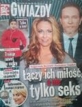 Malgorzata Rozenek, Radoslaw Majdan on the cover of Gwiazdy (Poland) - January 2014